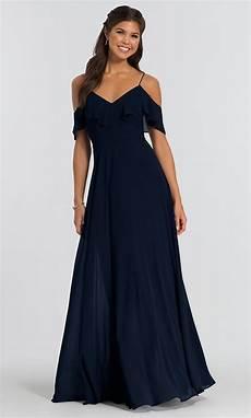 jenny yoo long off shoulder mila bridesmaid dress