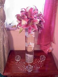 my diy tall stargazer lily centerpiece weddingbee photo gallery