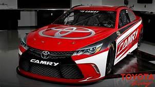 2015 Toyota Camry NASCAR Race Car Pictures Photos