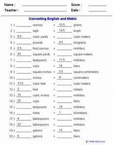 measurement conversion worksheets 1402 measurement worksheets metric conversions measurement worksheets metric