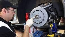 how to change rear brake rotors on a c7 corvette z51