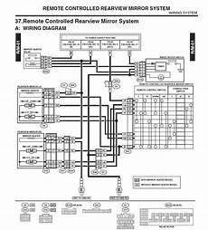 2004 subaru forester wiring diagram 04 forester power mirror switch subaru forester owners forum