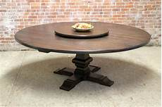 Kitchen Table With Lazy Susan by 80 Quot Large Table With Pedestal And Lazy Susan