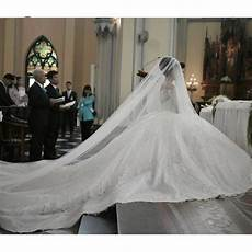 Cathedral Length Wedding Gowns 2016 new noble cathedral sleeve