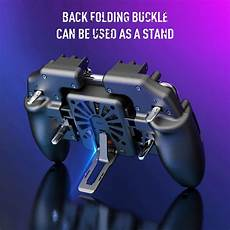 Fingers Cooling Gamepad Controller Cooler Iphone by Six Finger Pubg Mobile Controller Gamepad Trigger Aim