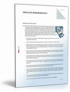 checkliste bewerbungsfoto zum