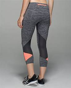 athletic clothes wee lululemon pace rival crop wee are from space black slate