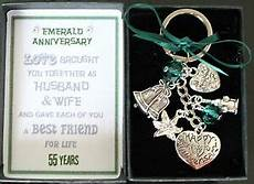 Emerald Wedding Anniversary Gift Ideas