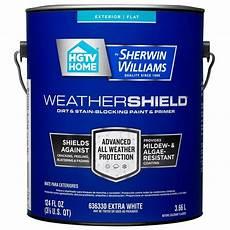 hgtv home by sherwin williams weathershield flat tintable