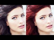 how to change hair color using paint net youtube