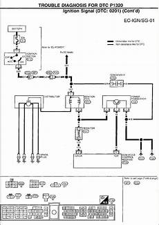 93 altima distributor wire connector diagram why is there no primary voltage to on a coil 97 altima