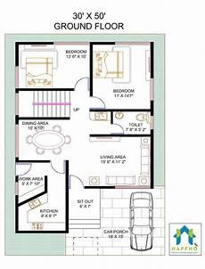 30x50 3bhk house plan 1500sqft little house plans 3 bedroom house map design 3050