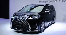 lexus lm breaks cover as ultra luxurious minivan for china other markets carscoops