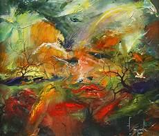 24 Lukisan Abstrak Karya Dario Canile Seni Rupa