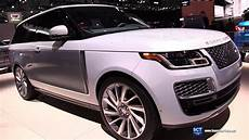 nouvelle range rover 2019 range rover sv coupe exterior and interior