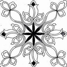 20 Terbaik Motif Batik Bunga Hitam Putih Istimewa Banget