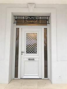 porte d entrée blanche porte d entr 233 e blanche en aluminium sur mesure qui est