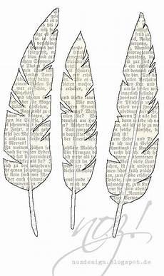Federn Zum Ausdrucken Printable Feder Kunst