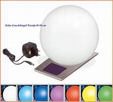 solarkugel 40 cm durchmesser solar leuchtkugel trendy 40 cm f 252 r innen und au 223 enbereich