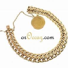 bijoux d occasion oroccaz bracelet avec breloque en or