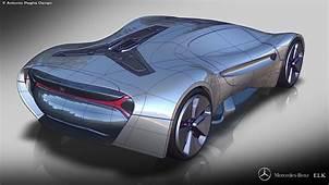 Mercedes Benz ELK Fits The Future EV Supercar Bill