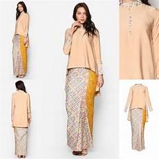 baju kurung moden kain songket fesyen trend terkini baju raya 2017 fesyen trend terkini baju