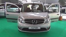 Mercedes Citan Tourer - mercedes citan tourer 109 cdi 2016 exterior and
