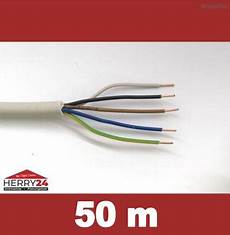 50m stromkabel nym j 5x1 5 mm 178 grau i herry24 elektro shop