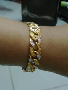 Koleksi Aleesya Gelang Tangan Emas Korea Gb01 08