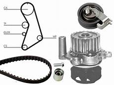 water and timing belt kit replace for seat ibiza