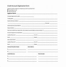 credit application template 33 exles in pdf word docs apple pages free
