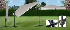 parasol deporte orientable 360 parasol ecru deport 233 250 x 250 pivotable et orientable