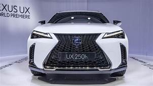 2019 Lexus UX 200 And 250h Crossovers Revealed At