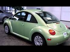 2003 volkswagen new beetle coupe gl in green oh 44312 youtube