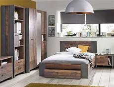 jugendzimmer bett jugendzimmer cedric 66 vintage braun 4 teilig schlafzimmer