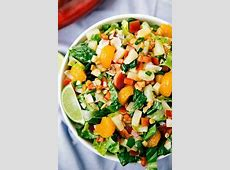 Tropical Pineapple Salad   Looks fresh and delicious