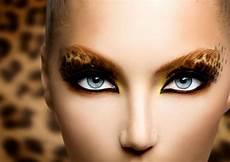 leoparden augen schminken fasching schminken den karneval look vollenden