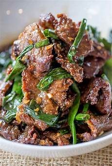 easy mongolian beef dinner then dessert