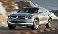 Vw Previews New Suv Styling With Cross Coupe Concept