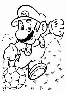 mario sports coloring pages 17784 coloriage de football dessin mario en joueur de football 224 colorier