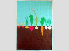 Vegetable Garden Quilt   FaveQuilts.com