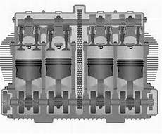 4 Cylinder Engine Animation