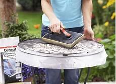 Mosaik Tisch Selbst Gestalten Bauen Mosaic Mosaik