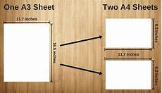 a3 sheet size what s the mathematical logic behind different a size