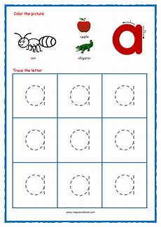 tracing letters uppercase and lowercase tracinglettersworksheets com