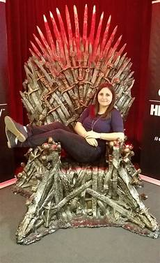 I Sat On The Actual Iron Throne From Of Thrones