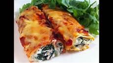 Cannelloni Spinat Ricotta - cannelloni spinach and ricotta