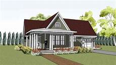small cottage house plans with porches simple yet unique cottage house plan with wrap around