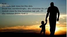 Kata Kata Mutiara Sedih Rindu Ayah Menyentuh Hati