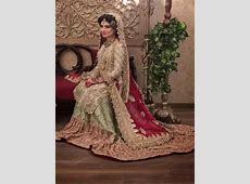 Pakistani Bridal Lehenga Dresses Designs Styles 2018 2019